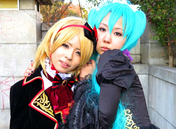 No trip to Japan is complete without seeing groups of cosplay teens — visitors are likely to spot a few of these costume-clad locals in Yoyogi Park. // © 2014 Boutique Japan