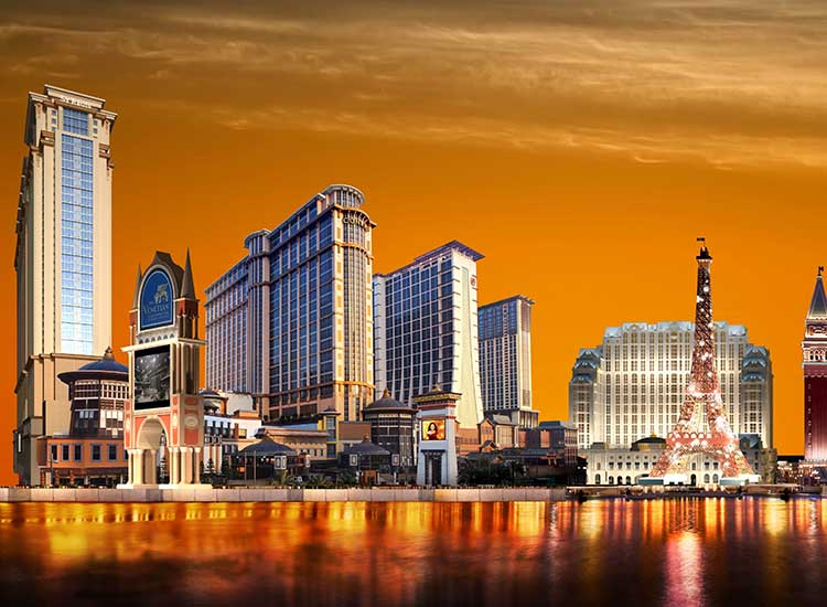 Sands China Ltd. has seven properties located on Sands Resorts Cotai Strip in Macau. // © 2016 Sands China Ltd.
