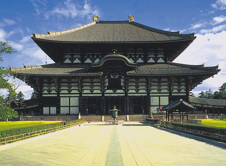 Among many attractions to see in Nara, Japan, is Great Buddha Hall, one of the world's largest wooden structures and a part of the Todaiji temple complex. // © 2014 Nara City Tourism Association