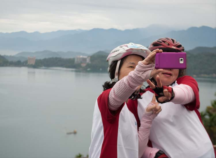 Sun Moon Lake is one of Taiwan's national scenic areas. // © 2014 Mindy Poder