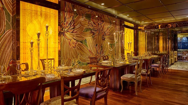 R&J, an Italian restaurant, is one of several dining establishments at The Reverie Saigon.