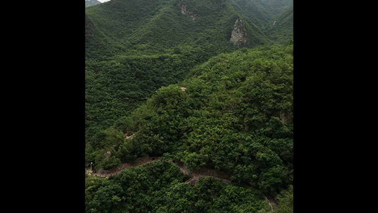 The Yuntaishan (Yuntai Mountain) scenic area was named a UNESCO Global Geopark in 2004. // © Michelle Juergen
