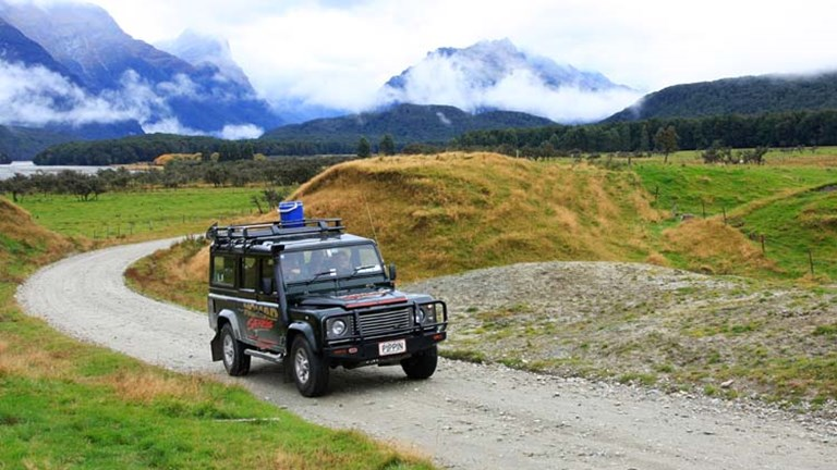 "Among Nomad Safaris' film-inspired excursions, the ""Safari of the Scenes"" tour in Glenorchy takes visitors to multiple filming locations from ""The Lord of the Rings"" and ""The Hobbit."" // © 2014 Nomad"
