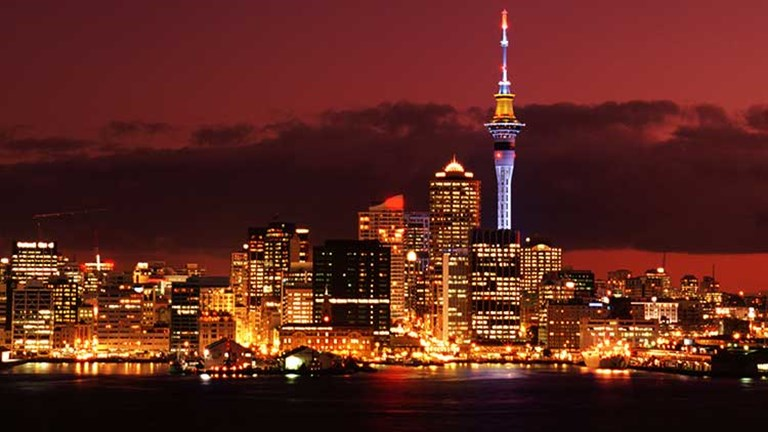 Ena Langford, a travel specialist for New Zealand, recently sent clients on a one-month journey through New Zealand via Auckland. // © 2014 Thinkstock/John Foxx