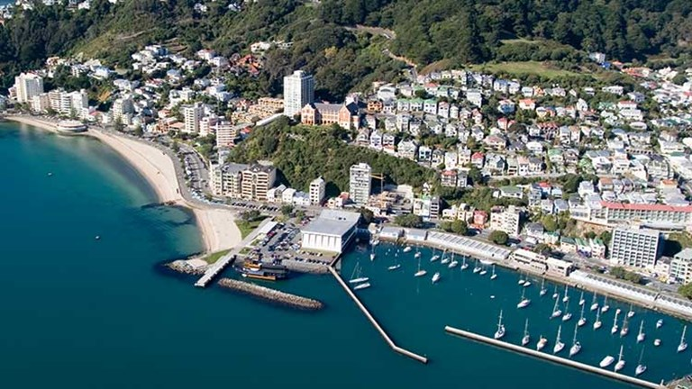In Wellington, they traveled from the harbor to the West Coast of the southern North Island: the Kapiti Coast. // © 2014 Thinkstock/Melvyn Birch
