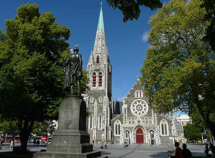 "Next up was Christchurch, the South Island's biggest city and ""the most English city outside of England."" // © 2014 Thinkstock/ZoonarRF"