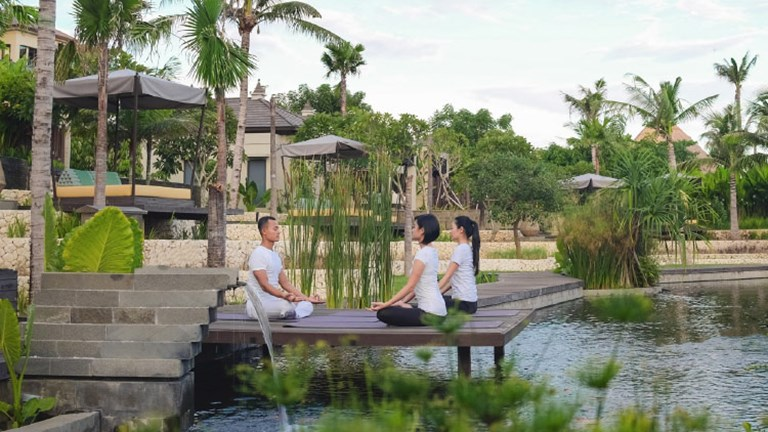 Ancient wellness practices coexist with a modern wellness movement and top-tier hospitality in Bali. // © 2017 The Ritz-Carlton, Bali