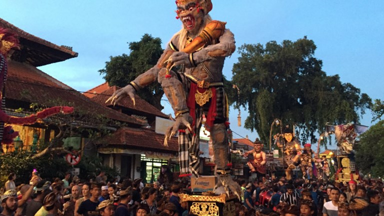 Tour operator Pravassa suggests visiting during Nyepi, Balinese New Year. // © 2017 Pravassa