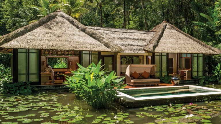 A private spa villa at Four Seasons Sayan // © 2017 Four Seasons Resort Bali at Sayan