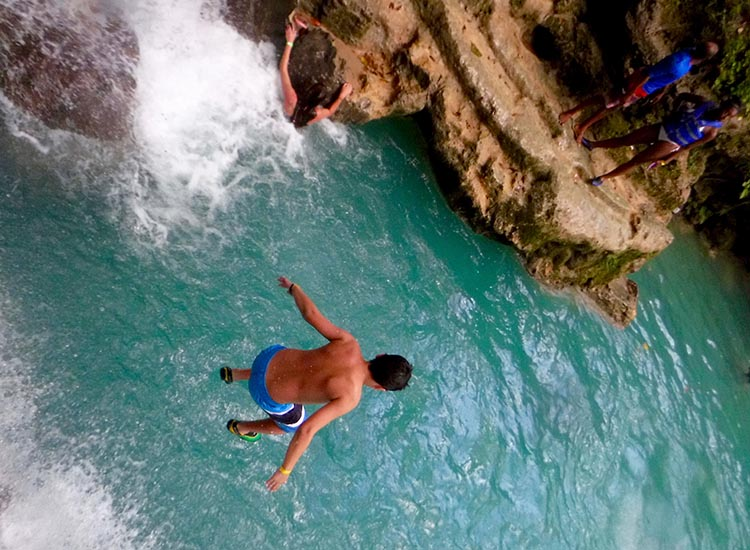Jamaica serves as a natural playground for adventurous families. // © 2016 Jaden Gonsalves