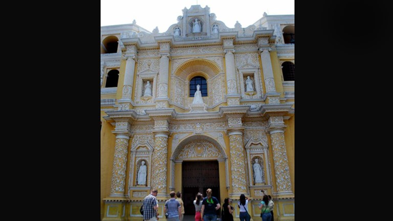 La Merced Church & Convent, Antigua is one of the most ornate churches in Guatemala. // (c) 2013 ASTA YPS