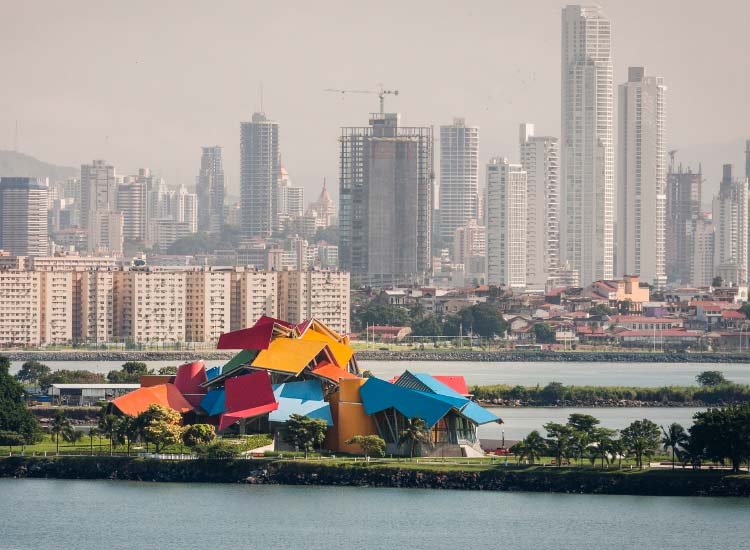Architect Frank Gehry designed the BioMuseo in Panama. // © 2014 Panama tourism Authority