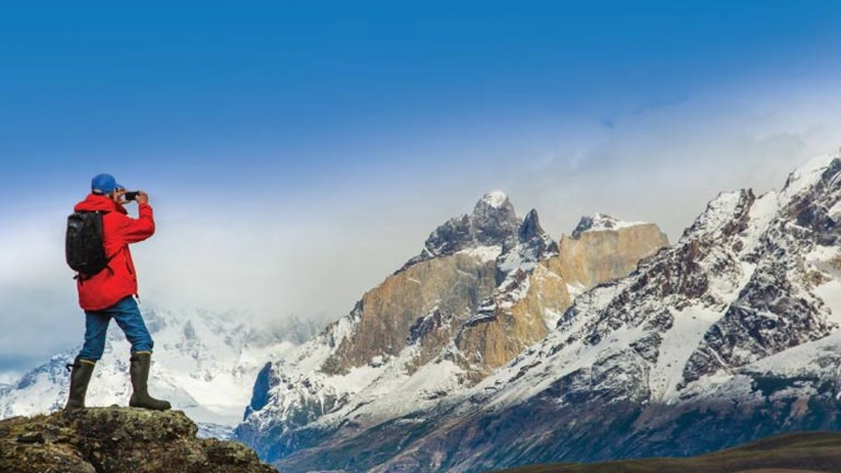The Patagonia region offers some of the most beautiful scenery in South America. // © 2015 Ralph Lee Hopkins/Lindblad Expeditions