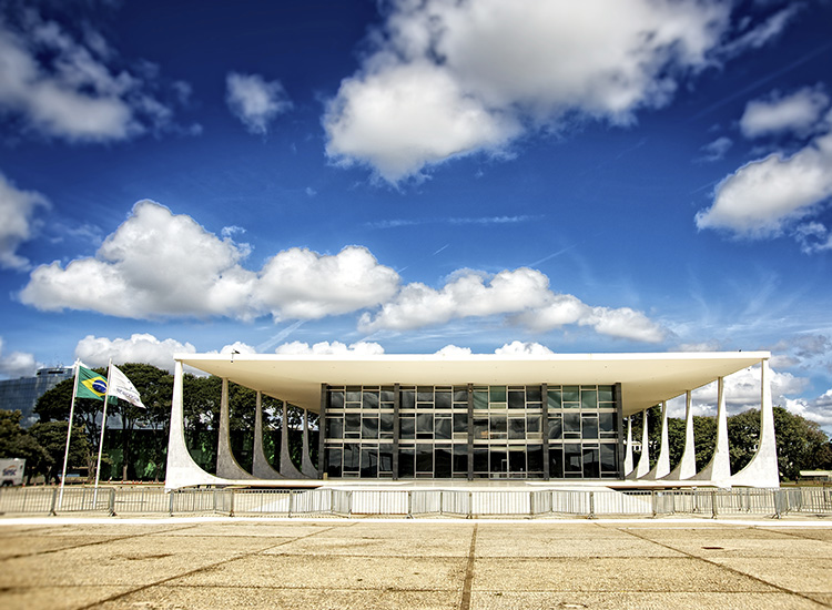 A city of modern art, as well as the capital of Brazil, Brasilia was designed primarily by architect Oscar Niemeyer. // © 2014 Thinkstock