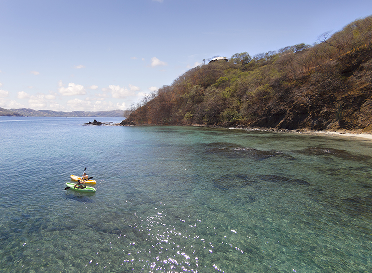 Numerous activites are offered gratis and displayed on a board by the pool, including kayak tours. // © 2015 Four Seasons Resort Costa Rica at Peninsula Papagayo
