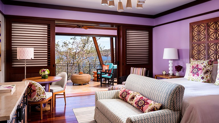 All 180 guestrooms were updated during the resort's multimillion-dollar renovation. // © 2015 Four Seasons Resort Costa Rica at Peninsula Papagayo