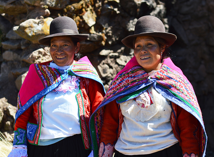 Local operator Mountain Lodges of Peru (MLP) helps travelers experience culture and soft adventure on the Lares Trail. // © 2015 Valerie Chen