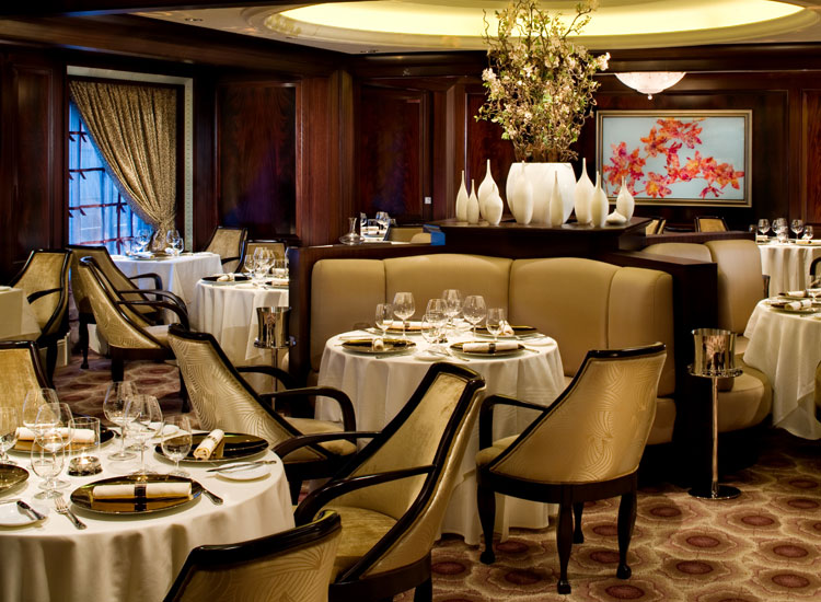 Murano is a Continental themed dining venue with a flair for contemporary French cuisine.  // (c) Celebrity Cruises