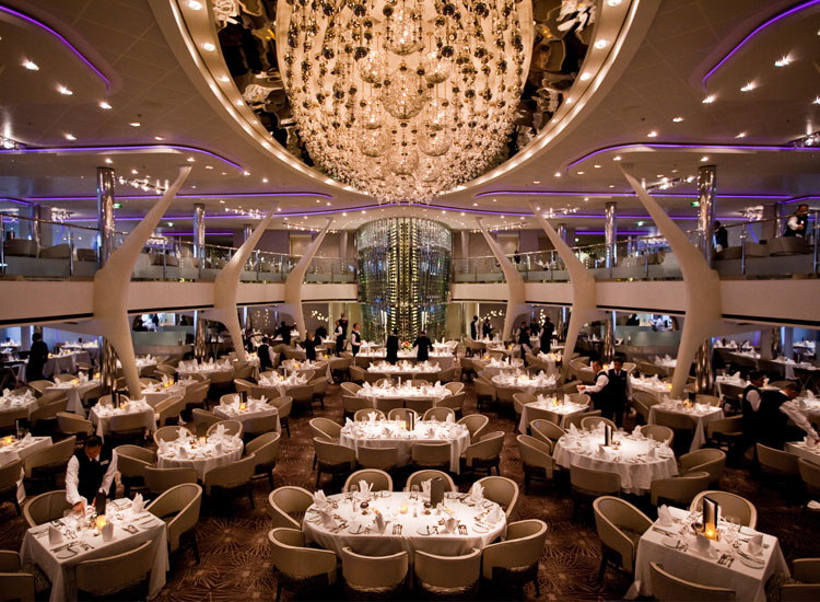 Grand Epernay dining venue // (c) Celebrity Cruises