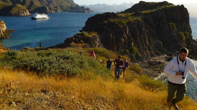 An Un-Cruise itinerary in the Sea of Cortez will offer active adventures. // © 2014 Un-Cruise Adventures