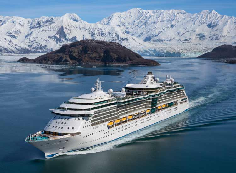 Radiance-class ships will be sailing Alaska in 2015. // © 2014 Royal Caribbean International
