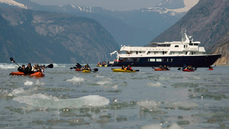Un-Cruise offers a more intimate Alaska experience than larger lines. // © 2016 Un-Cruise