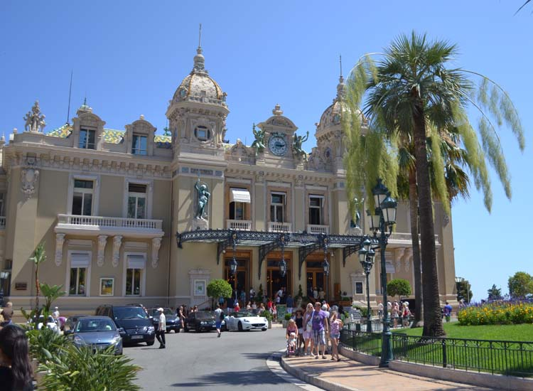 The Monte Carlo Casino // © 2013 Skye Mayring