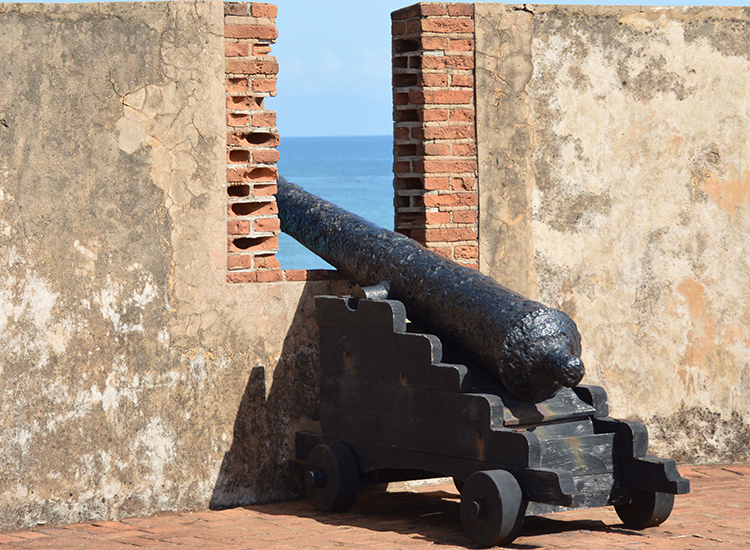 Fort San Felipe is a stop on the Puerto Plata highlights tour, another shore excursion. // © 2015 Valerie Chen