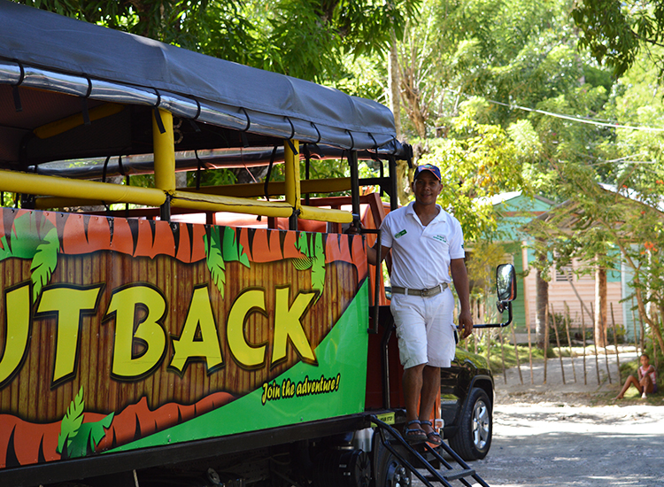 Passengers can choose from 40-plus shore excursions, including the Outback Dominican Adventure tour. // © 2015 Valerie Chen