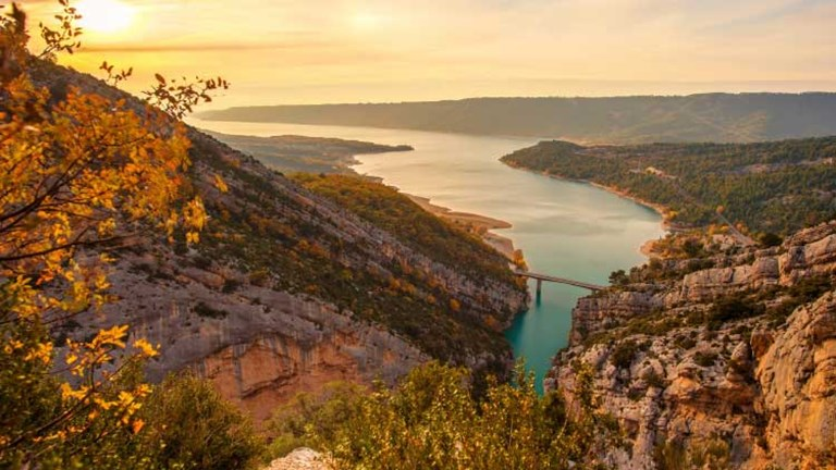 The Gorges du Verdon is considered Europe's Grand Canyon. // © 2013 Nejron Photo