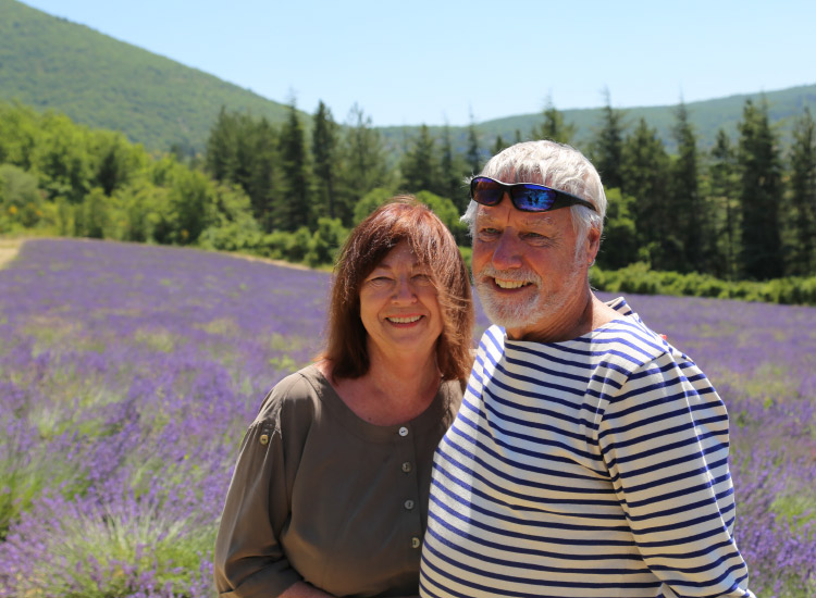 Summertime guests should head to the unforgettable lavender fields in Sault and other towns in Provence's countryside. // © 2016 Mindy Poder