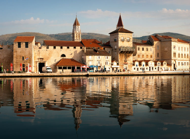 Croatia offers visitors the charm and history of Europe, but also a bit of quiet solitude. The historic town of Trogir, near Split, offers a beautiful old town and a slower pace. // © 2016 iStock