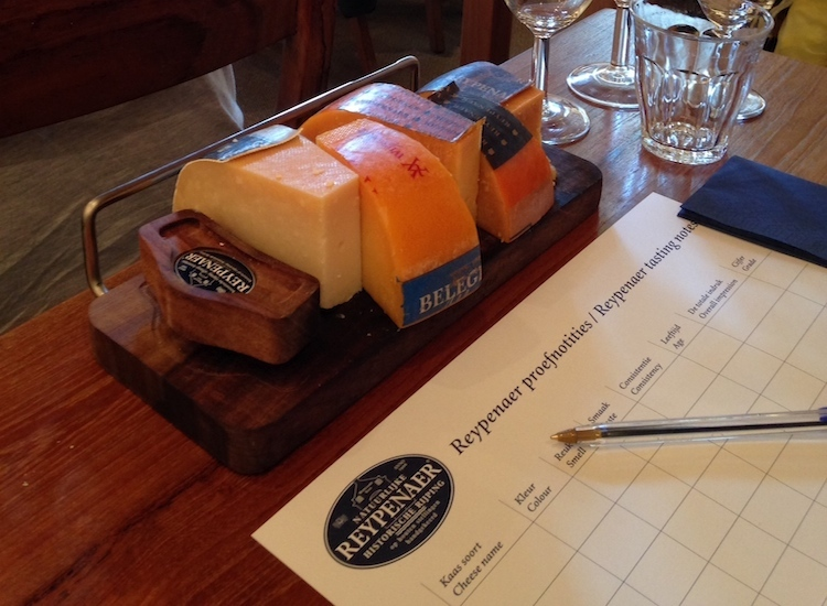 No visit to the Netherlands is complete without cheese, and at family owned Reypenaer Tasting Room, guests can sample different varieties paired with wines and ports. // © 2014 Carley D. Thornell
