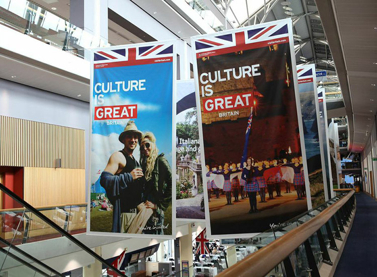 "VisitBritain will continue to invest in its multimillion-dollar ""Great"" campaign. // © 2015 VisitBritain"