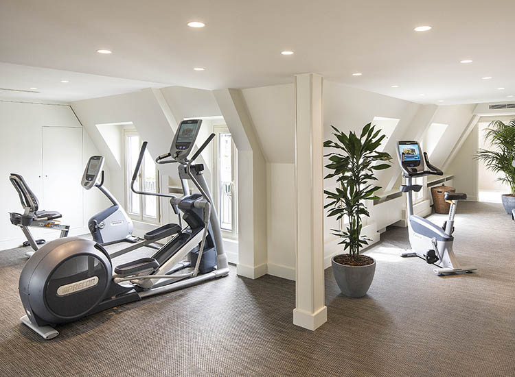 Hotel Napoleon features an upgraded fitness center. // © 2016 Hotel Napoleon