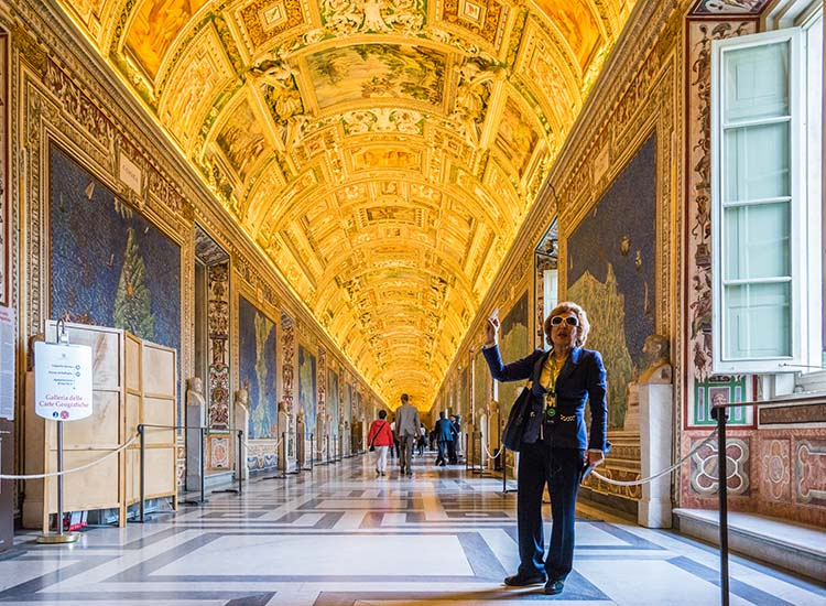 Among new offerings in Rome is Insight Vacations' Ultimate Italy Luxury Gold tour, which includes VIP access to The Vatican. // © 2016 Insight Vacations