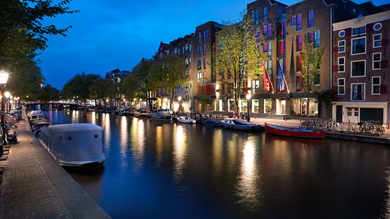 Andaz Amsterdam faces the Prinsengracht canal, which is also known as the Prince's Canal. // © 2016 Andaz Amsterdam, Prinsengracht