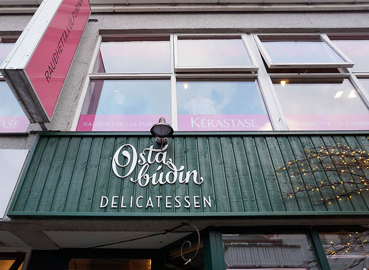 Ostabudin is a popular delicatessen and restaurant. // © 2017 Valerie Chen