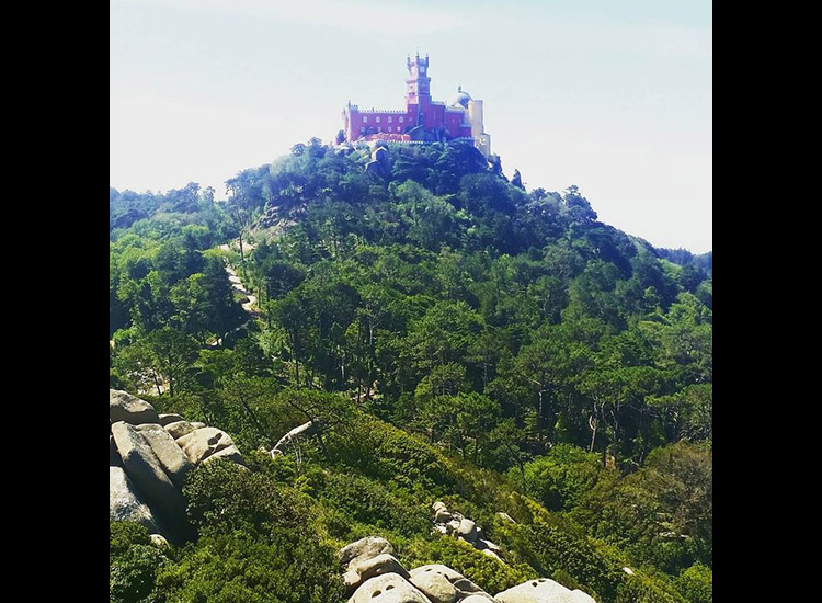 Pena Palace is often compared to Disneyland in Anaheim, Calif. // © 2015 Instagram user 333daphne
