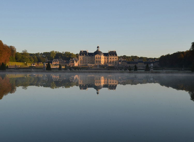 The estate of Chateau de Vaux le Vicomte, originally conceived by Nicolas Fouquet, is the largest private chateau in France and is currently cared for by the fifth generation of the de Vogue family. // © 2014 Vaux le Vicomte