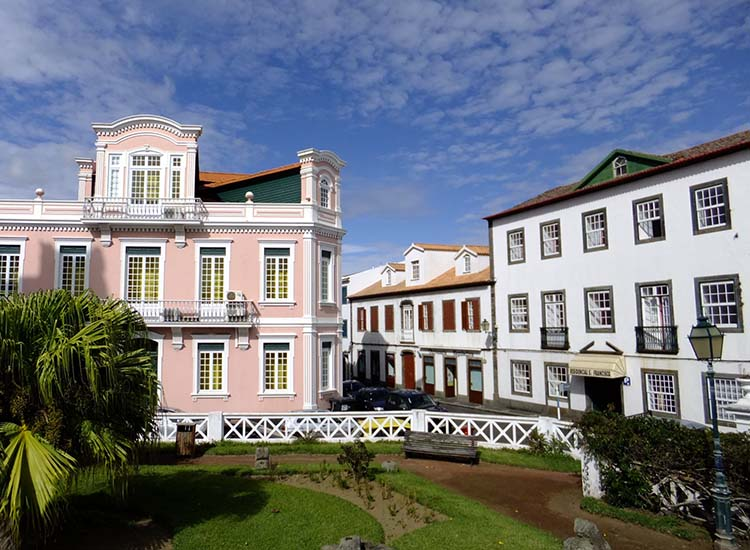 Faial is the fifth-largest of nine islands comprising the Azores in Portugal. // © 2017 Creative Commons user dmitri66