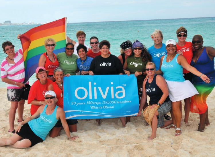 Olivia Travel used the fan base of its record company to develop a travel business specializing in charter cruises and resort vacations for lesbian travelers. // © 2014 The Olivia Companies, LLC.
