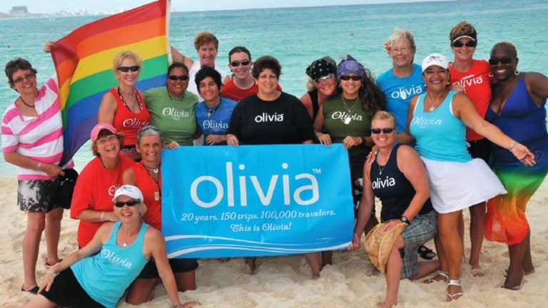 Olivia Travel used the fan base of its record company to develop a travel  business specializing