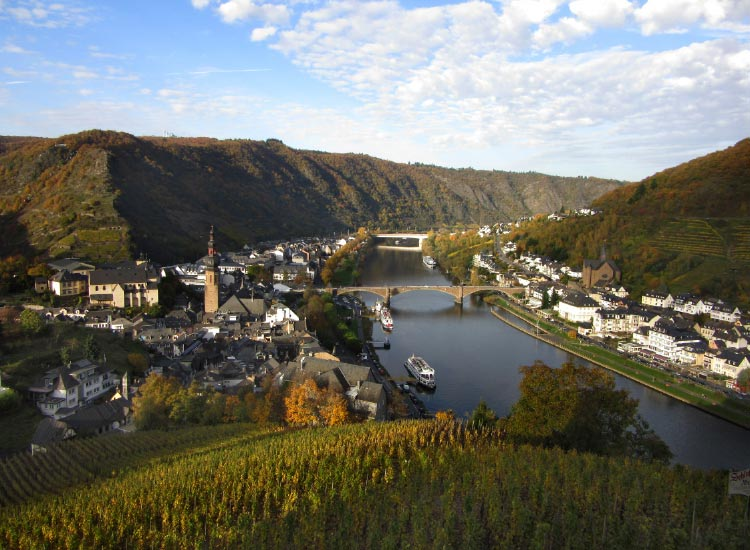 Mosel River, Honorable Mention, 2014 TravelAge West reader photo contest // © 2014 Theadis Damewood