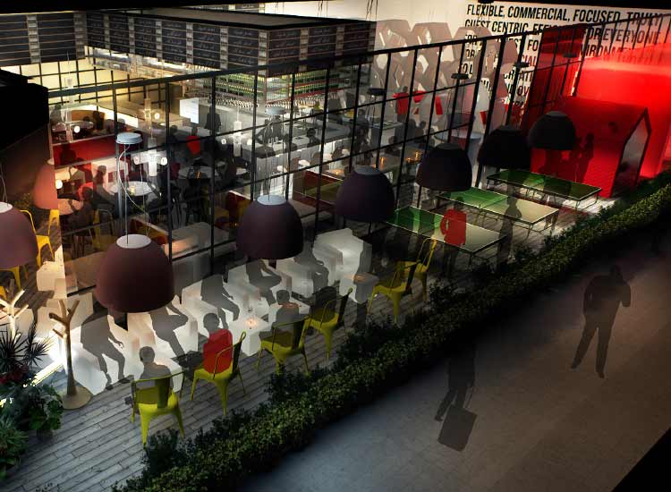Carlson Rezidor's plans for the Radisson Red aim to respond to millennial attitudes. // © 2015 Carlton Rezidor Hotel Group