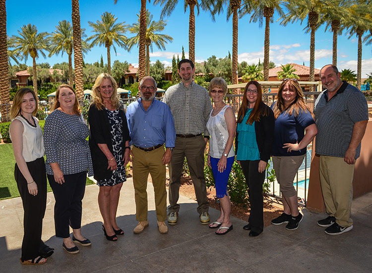 Top travel agents gathered at The Westin Lake Las Vegas Resort & Spa for a roundtable discussion at the GTM West conference. // © 2017 Jim Harris