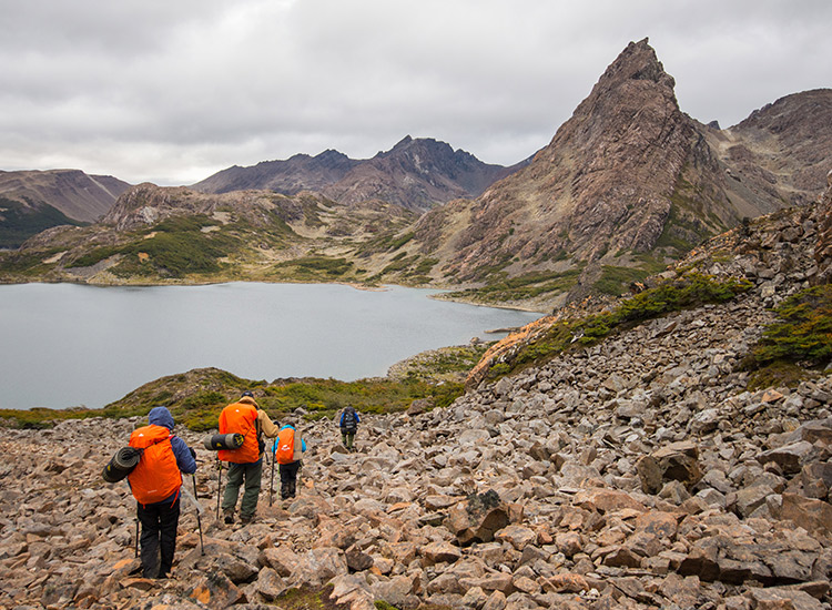 The Dientes Trek in Chile, a remote Patagonian hike led by Cascada Expediciones, recently received a Transformational Travel award. // © 2018 Cascada Expediciones