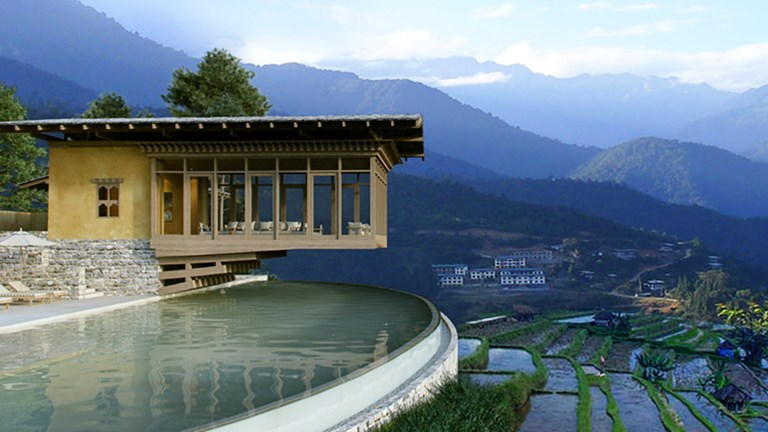 New products, such as Six Senses Bhutan, are emphasizing storytelling, and placing the client as the hero of their travel journey. // © 2018 Six Senses Bhutan
