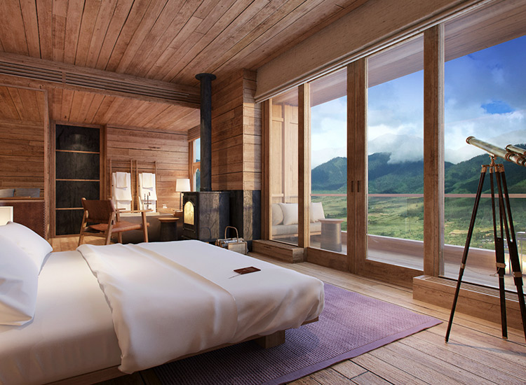 Six Senses Bhutan is a collection of five intimate properties throughout the country, each focusing on Bhutan's culture of happiness. // © 2018 Six Senses Bhutan