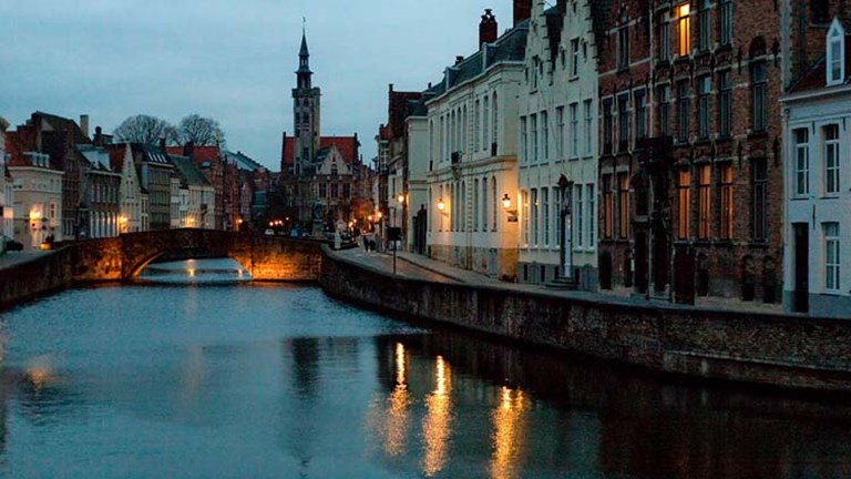 Bruges is known for its charming sights and world-class art. // © 2015 Creative Commons user -lucam-
